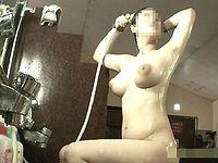 【フェチ必見】スパ 美人お姉さん♡洗い場盗撮(凄~くそそる♡巨乳&爆乳編 3組)㉘