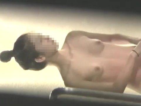 超かわいい子の入浴