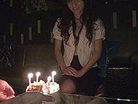 お気に入りのホステスの 誕生日を口実に ホテルで手篭めにする!! 園田綾(24)