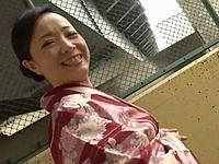 おばさんぽ ~着物で生まれ故郷を散策~ 南澤ゆりえ(45)